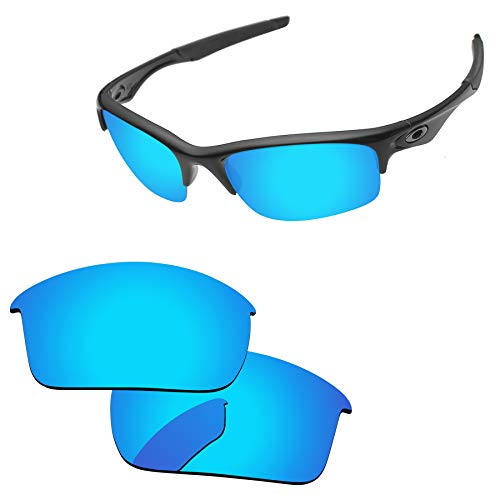 PapaViva Lenses Replacement for Oakley Bottle Rocket Ice Blue