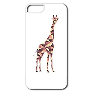 PTCY IPhone 5/5s Design Particular Giraffe