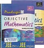 Pradeep's Objective Mathematics for JEE (Mains) and JEE (Advanced) - Volume 1 & 2