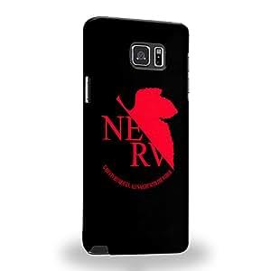 Case88 Premium Designs Neon Genesis Evangelion Nerv 1132 Carcasa/Funda dura para el Samsung Galaxy Note 5
