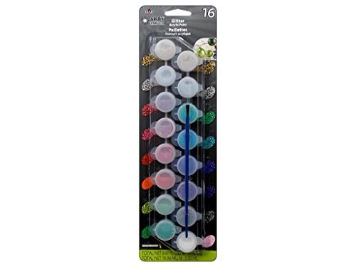 FolkArt Extreme Glitter Paint  Set, 23915 (16 Color)