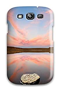HFPOO36KJTPYXT8Q Premium Durable Reflection Earth Nature Reflection Fashion Tpu Galaxy S3 Protective Case Cover