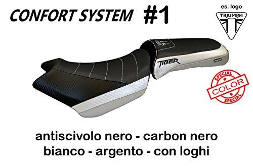 Venezia Cover - Triumph Tiger 1200 Explorer XC Tappezzeria Comfort Foam Seat Cover Venezia New