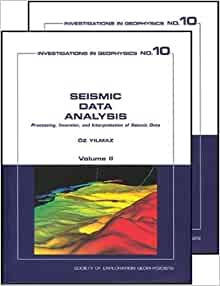 Seismic Data Analysis (2 Volumes) (Investigations in