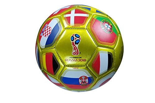 (FIFA Official Russia 2018 World Cup Official Licensed Size 5 Ball 05-1 (A)