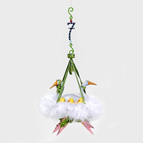 Department 56 Krinkles 12 Days Of Christmas 7 Swans Ornament #39226 ()