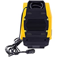 Kongqiabona Bomba de inflado de neumáticos de Alta Potencia portátil 12V Pantalla Digital LED automática Bomba de compresor de Aire de Emergencia para Camiones de Baloncesto de automóviles