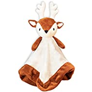 Giggles Formula - Baby Deer Security Blanket - Infant Antler Blanket - Baby Plush Deer Blanket - Newborn Deer Gift for Nursery - Deer Blanket