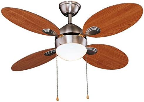 Ventilador de techo Diámetro 107 cm, 3 velocidades, 4 Aspas ...