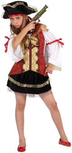 Atosa - Disfraz de pirata para niña, talla M, 5-6 años (111-6365 ...