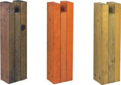 【永大産業】デッキパネルユニット<天然木タイプ> 脚 通常タイプ メープル色 1本入り