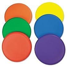 Rhino Skin Foam Discs, Set of 6 Assorted Color Discs, Sold as 1 Set
