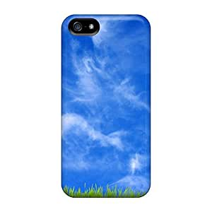 New Blue Sky Sunflower Tpu Case Cover, Anti-scratch Estebanrivera-11 Phone Case For Iphone 5/5s