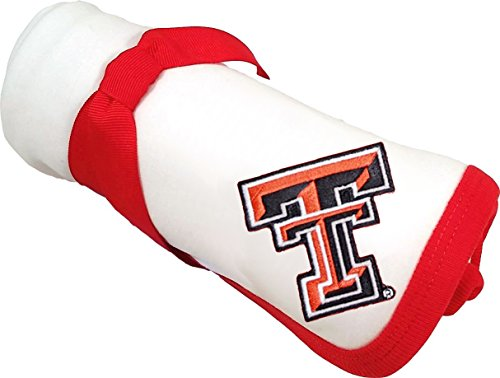 Future Tailgater Texas Tech Red Raiders Baby Receiving Blanket (Texas Red Tailgater Raiders Tech)