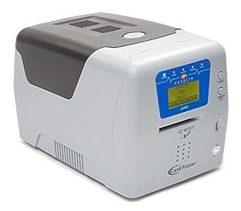 Jabalina J200i alimentación Manual impresora de tarjetas, a una ...