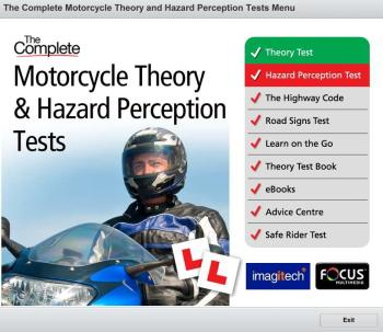 Contains everything you need to prepare and pass the motorcycle theory test