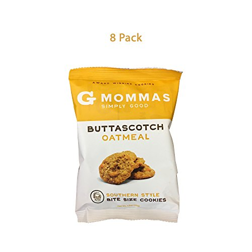 Buttascotch Oatmeal Cookies, 8 Pack Snack Size Bags. 1.5 Oz.