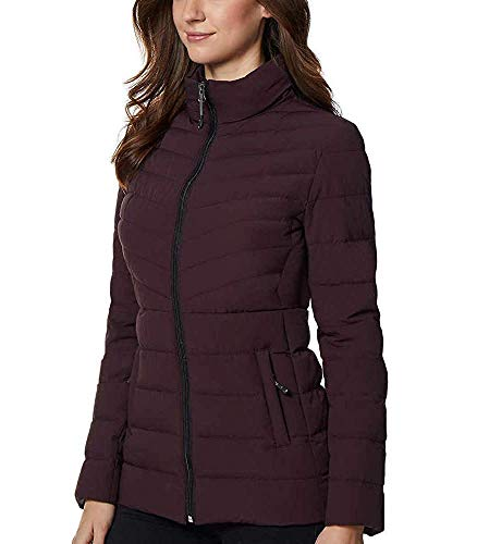 32 DEGREES Ladies' 4-Way Stretch Jacket (Eggplant, Medium) (Sale Coats Winter Woman)