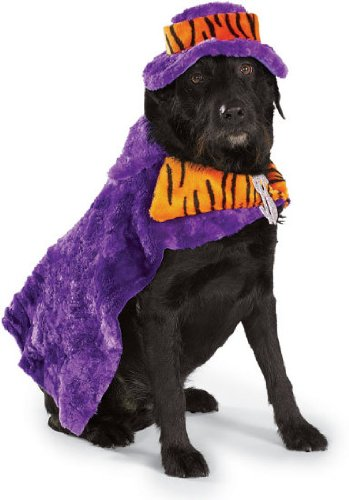Halloween Pimp Dogs Costume For (Mac Daddy Le Pimp Halloween Pet Costume)