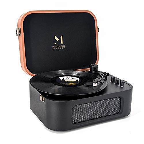 Why Should You Buy Record Player Bluetooth, Turntable with Built-in Speaker, 2-Speed Vinyl Record Pl...
