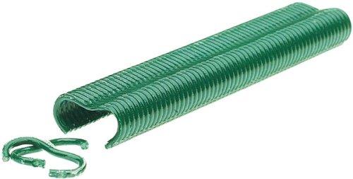 Confezione 1600 PZ Italfrom Punti Plastificati VR22 per Pinza Clippatrice da Giardino Rapid FP222 per Reti