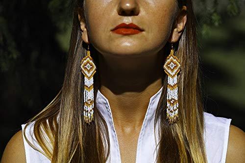 Bead Earrings Necklace