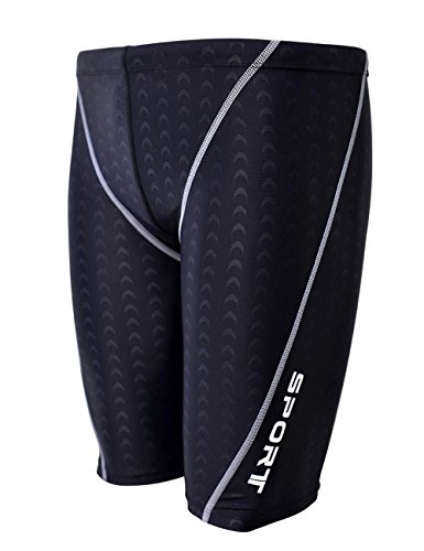 easea-mens-rapid-swim-splice-quick-dry-jammer-swimsuit-black-4x-large
