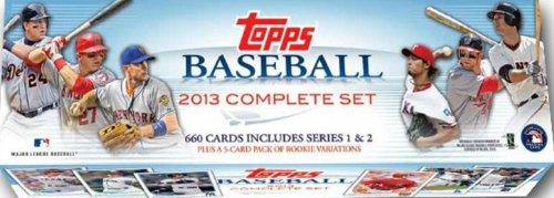 2013 Topps MLB Baseball EXCLUSIVE MASSIVE 666 Card Factor...