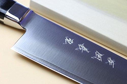 Yoshihiro-High-Speed-Steel-Gyuto-Chefs-Knife-Black-Pakkawood-Handle