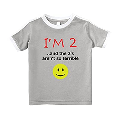 Cute Rascals I'm 2 and The 2'S aren't So Terrible T-Shirt