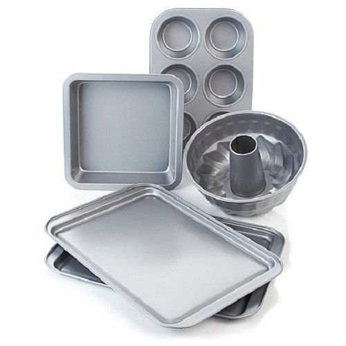 Wolfgang Puck Bistro Elite 5 piece Non-Stick Bakeware, used for sale  Delivered anywhere in USA