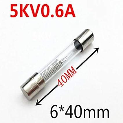 Davitu - Fusible fusible para horno microondas (5 mm, 6 mm ...