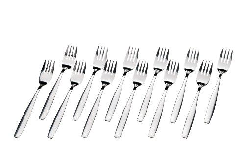 GRÄWE® 12 Stück Menügabeln Tafelgabeln aus Edelstahl
