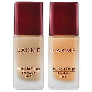 Lakme © Invisible Finish SPF 8 Foundation, Shade 04, 25ml And Lakme © Invisible Finish SPF 8 Foundation, Shade 05, 25ml