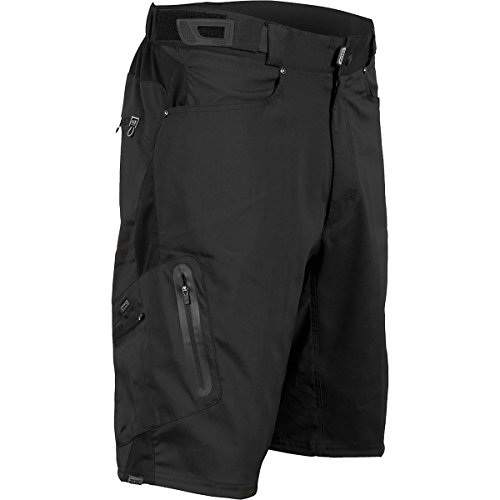 ZOIC Ether Short – No Liner – Men's Black, XL