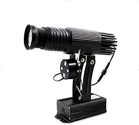 Amazon.com: Logo LED proyector de luz LED GOBO proyector ...