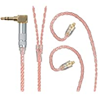 Monoprice Monolith Oxygen Free Copper Braided Headphone Cable with MMCX Connectors