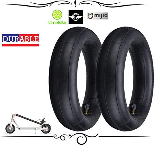 Fish Eating Cat FEC Electric Scooter Tire 8 1/2 inch Thicken Inner Tube Inflated Spare Tire Replace Tube for Xiaomi M365 Electric Scooter(Pair) (Inflated Tires)