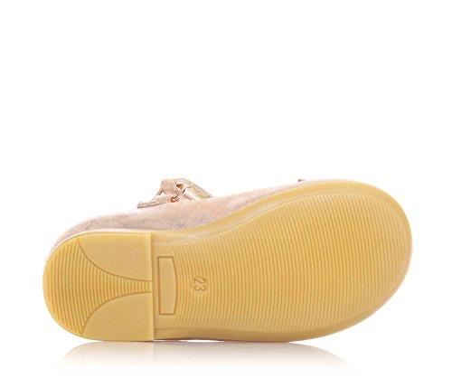 Petit Jo Suède Sur Avec Pêche Logo En Fille Nœud Velcro Strass Liu Cuir Filles Fermeture Fermeture Ballerine Couleur La 4WdvvOq