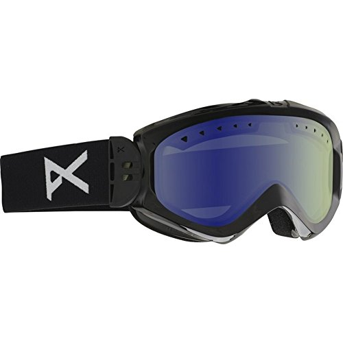 Anon Majestic Goggles Black/Blue Lagoon Lens Womens