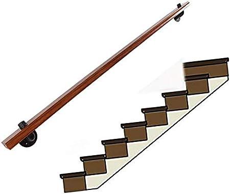 Barandillas Escalera de barandilla pasamanos de la escalera Barandilla Kit completo, de madera maciza AntiSlip escalera Baranda, Adecuado for su ático Villa Casa Kinder Loft pasillo de acceso del Hosp: Amazon.es: Hogar