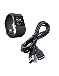 Fitbit Surge Charger, ABC USB Charger Charging Cable for Fitbit Surge Fitness Watch Wristband