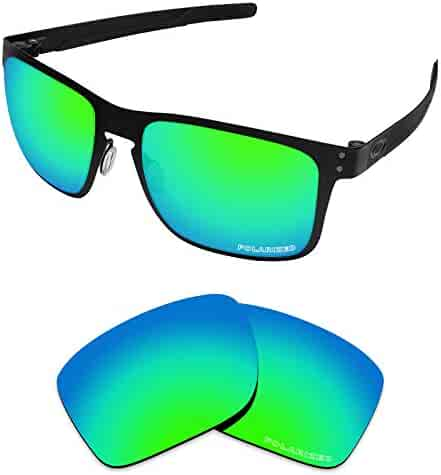 97d5695fe113 Tintart Performance Lenses Compatible with Oakley Holbrook Metal Polarized  Etched