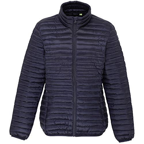 Padded Morar ladies Quilted Coat Outdoor Jacket Navy Look Womens xfRTcI4q