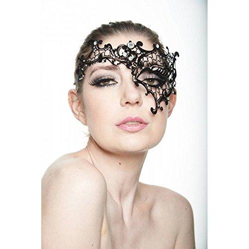 Kayso Inc Luxury Gold Collection Laser Cut Masquerade Masks, Phantom of the Opera