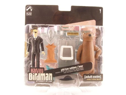 Adult Swim Action Figure Set Harvey Birdman Phil Ken Sebben and Bear Action.. SG/_B000FS6JCK/_US