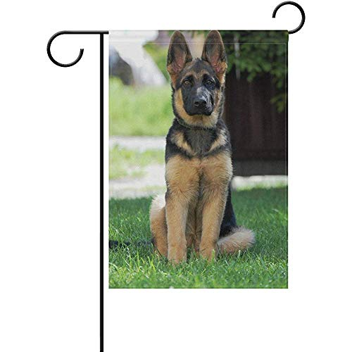 German Shepherd Garden Flag - 8