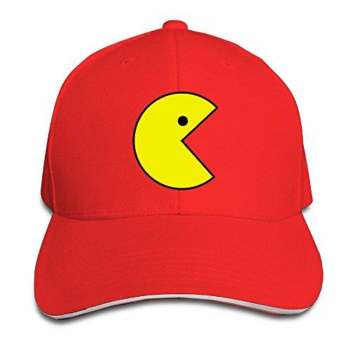 Pacman Monster Costume (Harriy Pac Men Unisex Sandwich Hat Red)