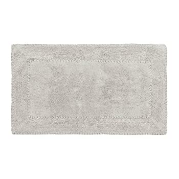 Amazon Com Laura Ashley Ruffle Cotton 17 Quot X 24 Quot Bath Rug