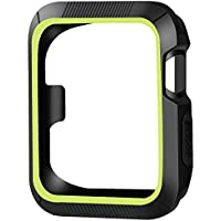 OULUOQI Apple Watch Case 42mm, 2 colors Design[Patent Pending], Shock-proof and Shatter-resistant Protective iwatch...
